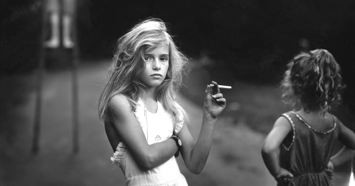 Candy cigarette 1989 by sally mann